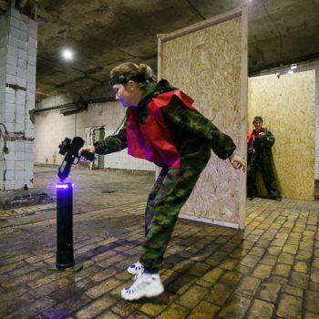 Лазерный бой в помещении