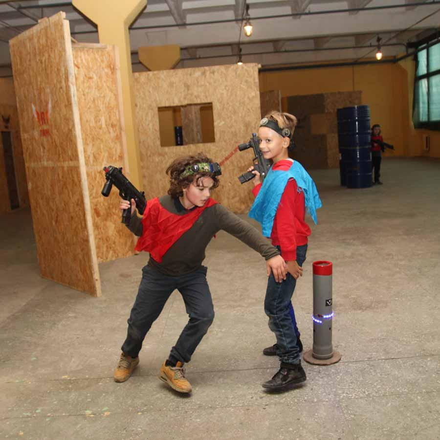 Спортивный детский квест в помещении